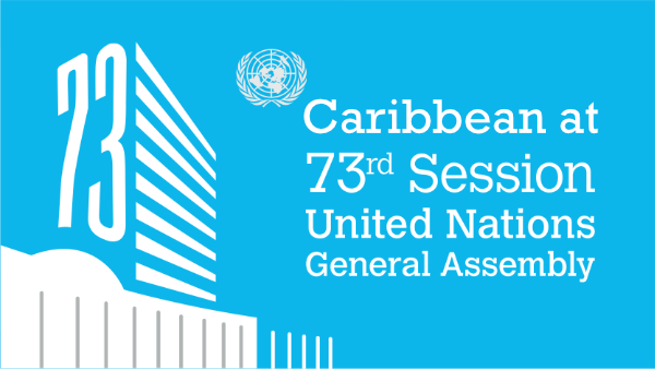 logo of the UN General Assembly 73rd session