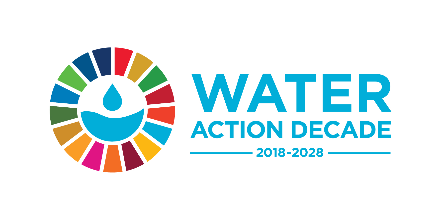 World Water Decade Logo Horizontal