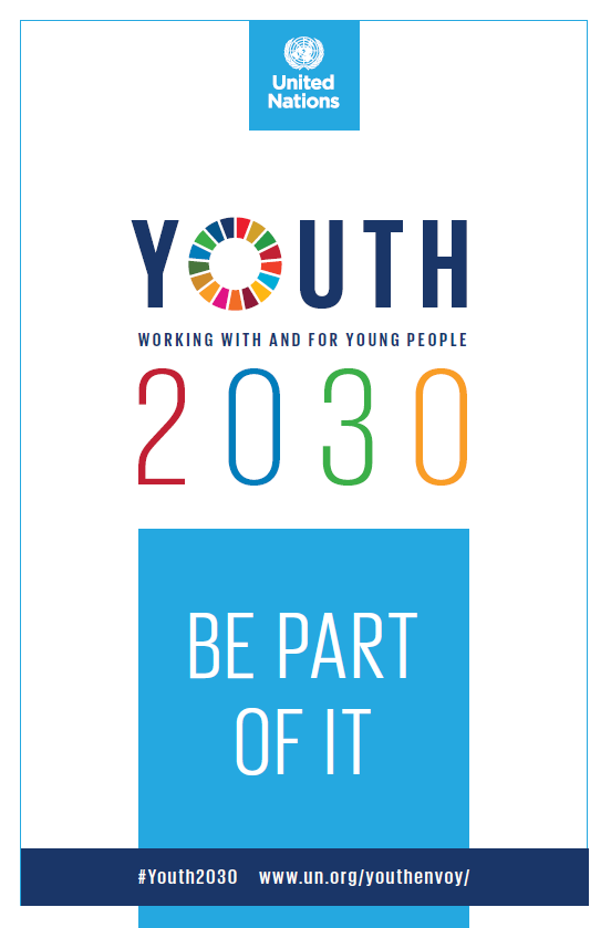 Youth 2030 launch at UN Headquarter…