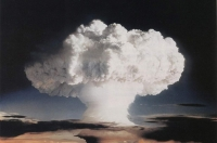 An atmospheric nuclear test conducted by the United States at Enewetak Atoll, Marshall Islands, on 1 November 1952.