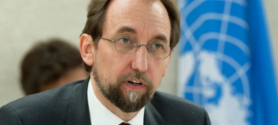 High Commissioner for Human Rights Zeid Ra'ad Al Hussein.
