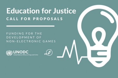 UNODC - applications open for Funding for non-electronic games