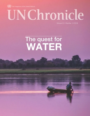 cover of  UN Chronicle . Vol no. 1 2018