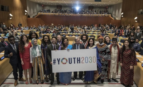 High Level Event on Youth2030 to launch the United Nations Strategy and the Generation Unlimited