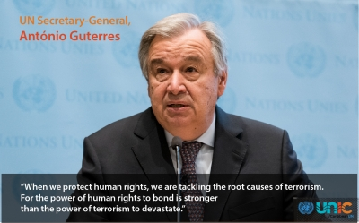 UN Secretary-General, António Guterres (file)