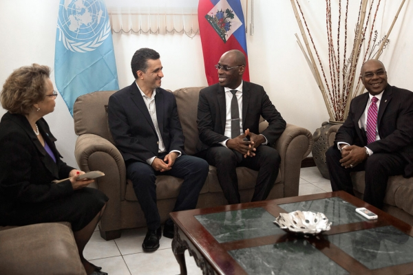 UN Security Council sees hope for reform after Haiti visit.