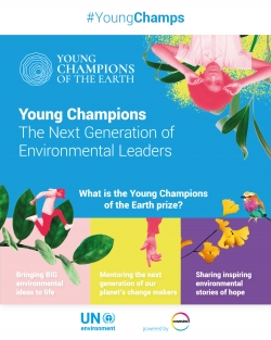 Young Champions of the Earth competition - now open