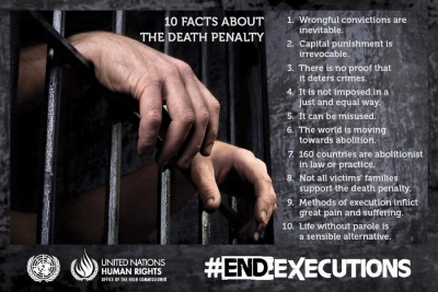 Please stop the executions:  The death penalty has no place in the 21st century.