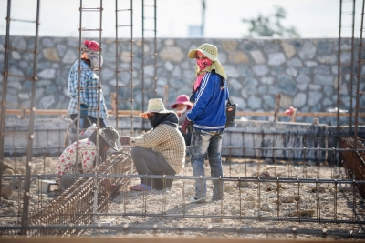 Overworked and undervalued, women migrant workers in the Thai construction and domestic work sectors are regularly discriminated against and often lack labour protection.