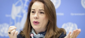 Press conference by the President of the United Nations General Assembly, Ms. María Fernanda Espinosa.