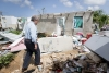 Mr. Guterres walks through Codrington town in Barbuda to see firsthand the devastation left behind by Hurricane Irma.