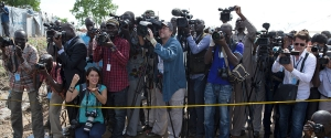 UN Photo/Isaac Billy - Journalists in Juba,South Sudan.