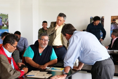 Observers from the UN Mission in Colombia and the Government of Colombia and the Revolutionary Armed Forces of Colombia - People's Army (FARC-EP), start work at the national headquarters of the Monitoring and Verification Mechanism in charge of overseeing the ceasefire and cessation of hostilities in the country.