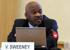 Vincent Sweeney, Head of the Caribbean Sub-Regional Office, UN Environment