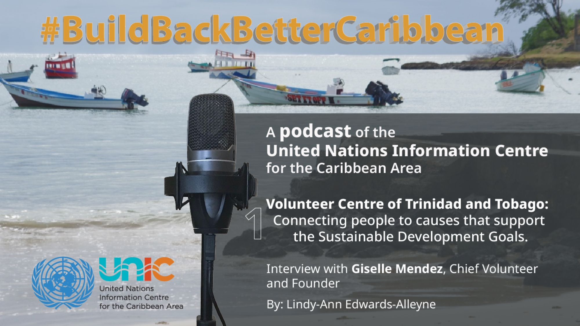 The Volunteer Centre of Trinidad and Tobago: Connecting people to causes that support the Sustainable Development Goals