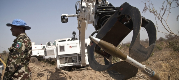 UNMAS, MINUSMA Mark International Day for Mine Awareness. Robots have been deployed for mine clearance by military authorities in many countries, but concerns are rising over regulation of autonomous weapons which use Artificial Intelligence.