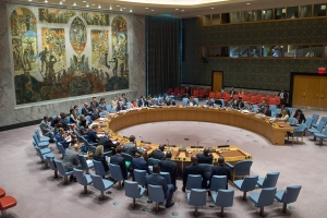 Security Council meeting on The situation concerning Haiti.
