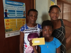 recipients of cash transfer in Dominica.