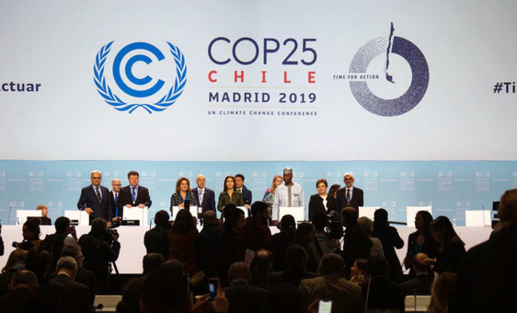 Official Opening Ceremony of the high-level segment of COP25 - the 25th Conference of the Parties to the UN Framework Convention on Climate Change.